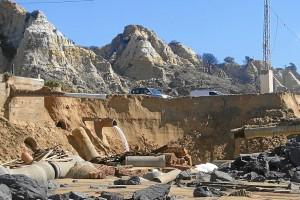 Los propietarios de Las Casas de Bonares se unen para pedir ayudas tras el temporal.