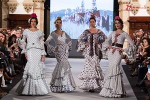 """El Ajolí presenta su nueva colección en Bonares en la Gala Flamenca """"A ti Dolores"""""""