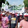 El Condado reclama en Sevilla la transferencia de agua para los regadíos.