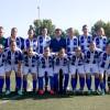 Partido de fútbol femenino internacional en Bonares.