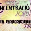 Programación de la Concentración Joven el Corchito 2016.