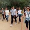 Peregrinación andando al Rocío, Bonares.