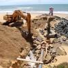 Comienzan las obras de reparación del colector y el emisario de Mazagón.
