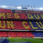 La Peña Barcelonista organiza un viaje a Barcelona. 2011.
