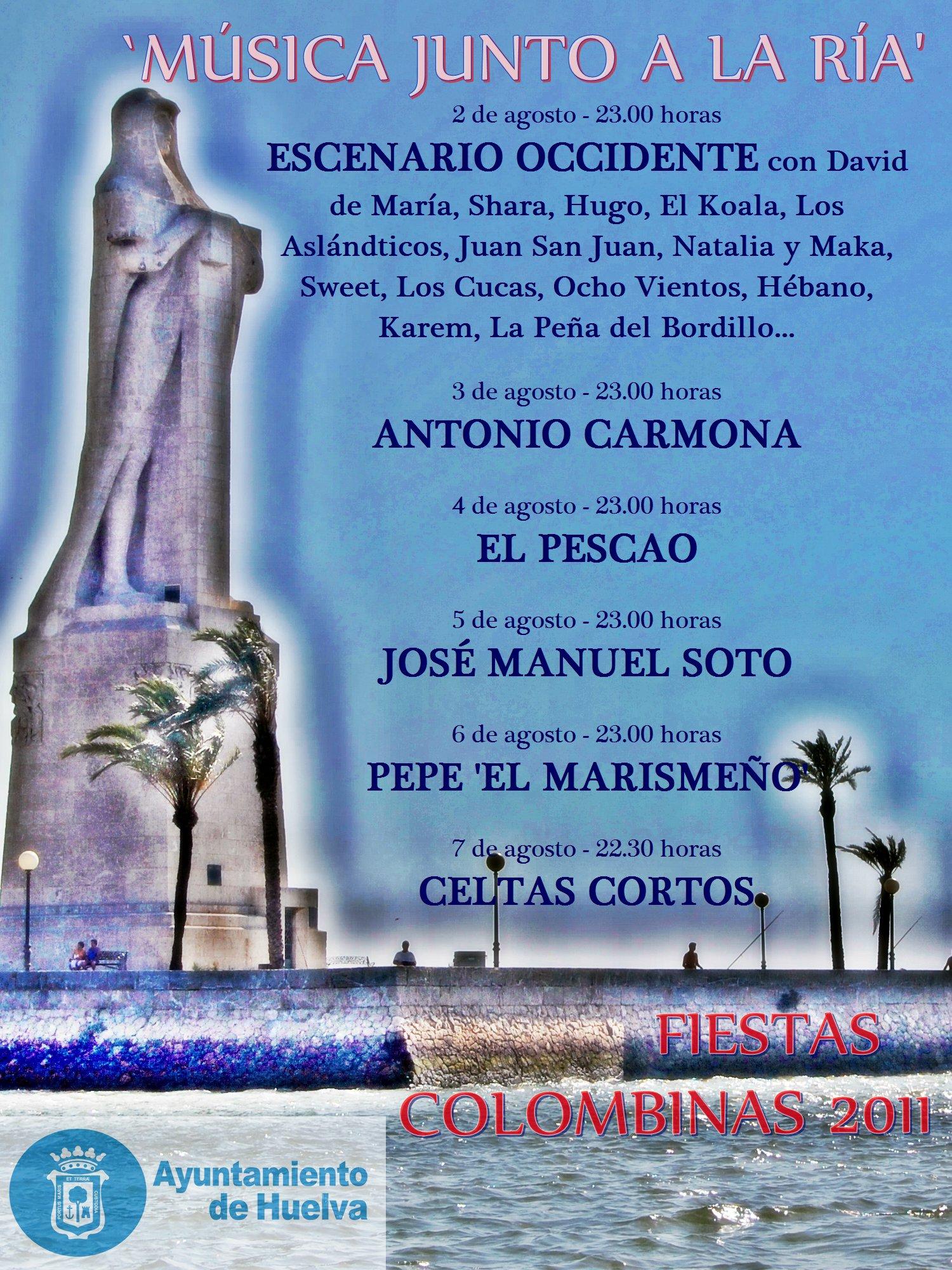 """""""conciertos colombinas 2011"""""""