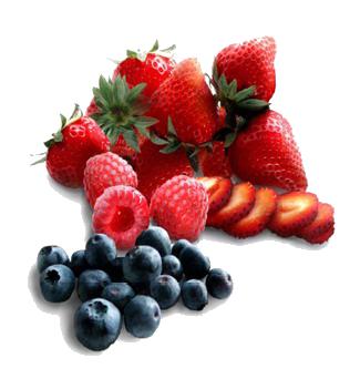 fresas frambuesas