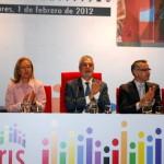 El Presidente de la Junta entrega los Premios Arcoiris en Bonares.
