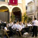 Concierto de la Banda de Música del día del Corpus.