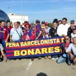 La Peña Barcelonista de Bonares viajó a Lisboa para ver el partido de fútbol Benfica  –  Barcelona.