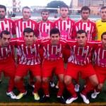 El C.D. Bonares Bonafru actual lider de la categoría tras vencer al Punta Umbria por (0-2).
