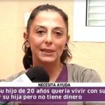 María José pide ayuda en Canal Sur.
