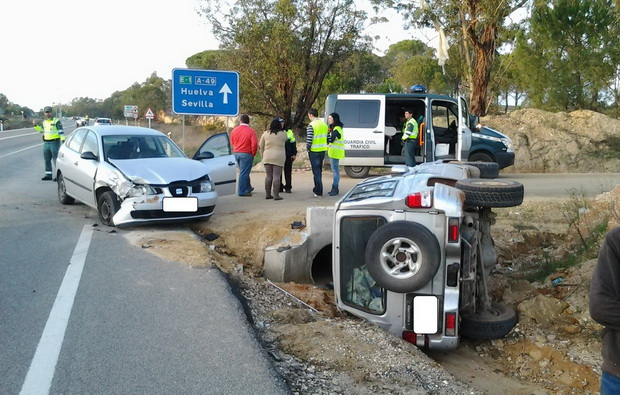 accidente carretera bonares