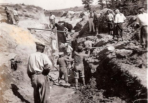 Obras para la Traída del Agua a Bonares.