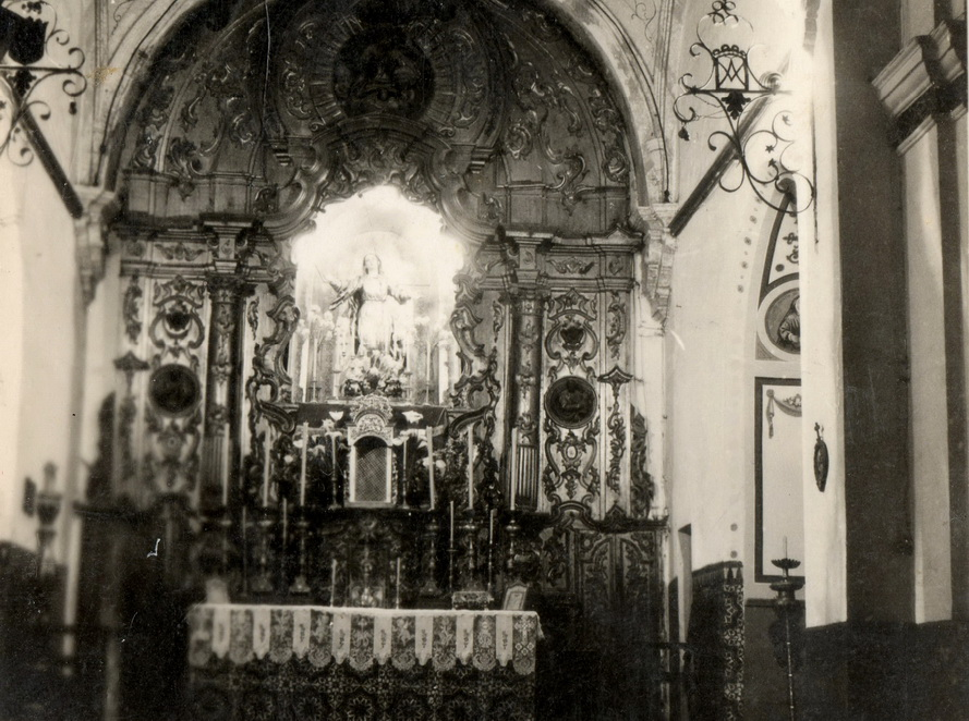 Iglesia de la Asunción, años 50.