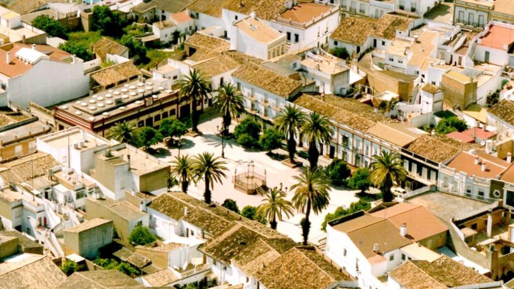 Plaza de España. Archivo Excmo. Ayuntamiento