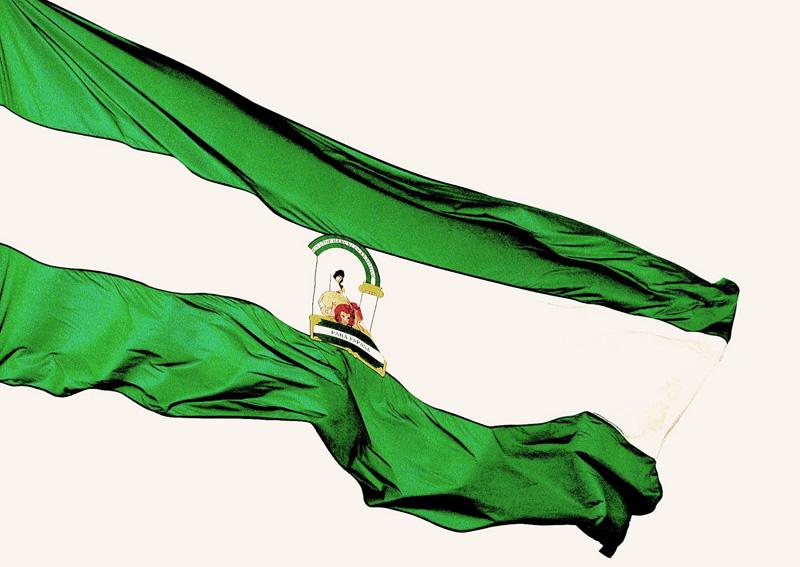 """bandera andalucia"""