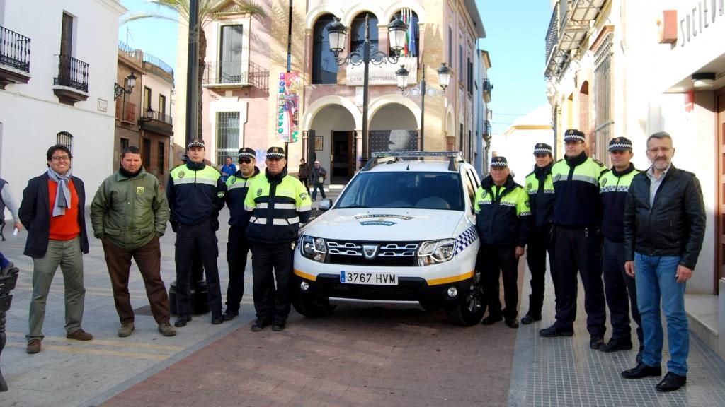 Nuevo vehículo policía local.