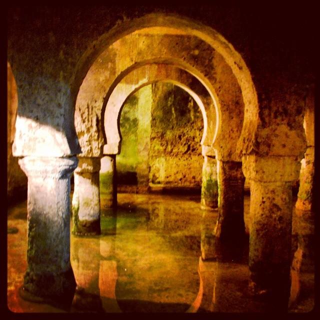 Aljibe árabe del siglo XII, Cáceres .