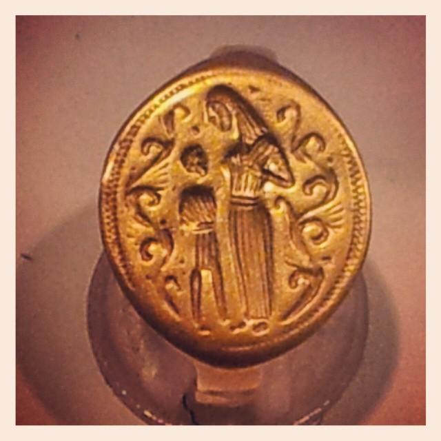 El anillo de Niebla, pieza del mes en el Museo de Huelva.