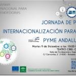 Jornada de Pre-Internacionalización para la pyme Andaluza. Bonares.