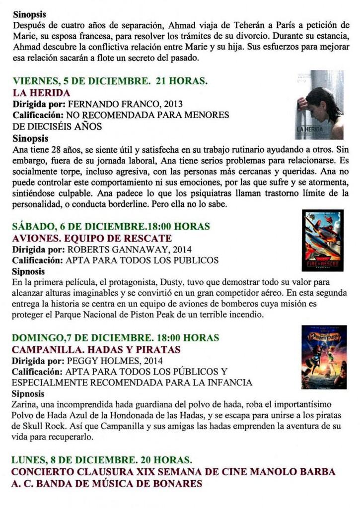 programacion semana de cine14 2