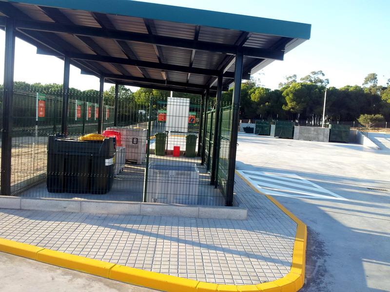 Finalizan las obras del punto limpio de residuos urbanos - Punto limpio marbella ...