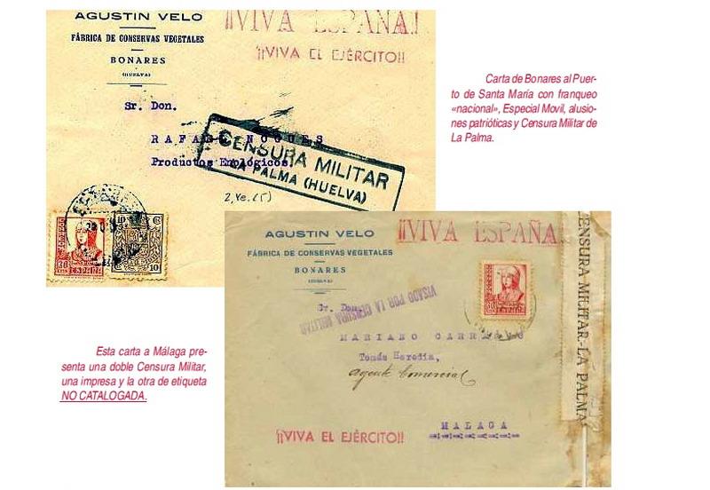 censura postal