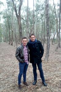Rafa Cremades y Jonas Campos.