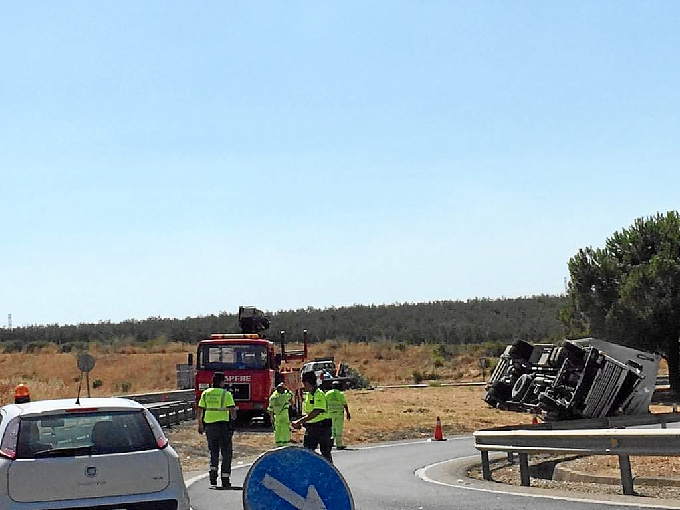 accidente mortal en el cruce de Chucena.