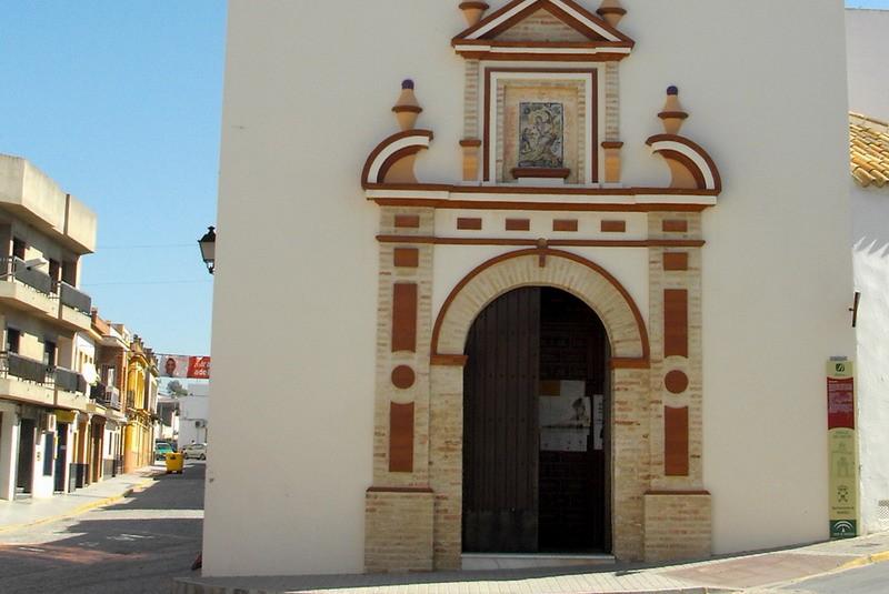 Ermita de San Sebastian en Bonares, Huelva.