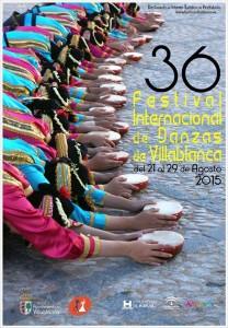 cartel festival de Villablanca 2015.