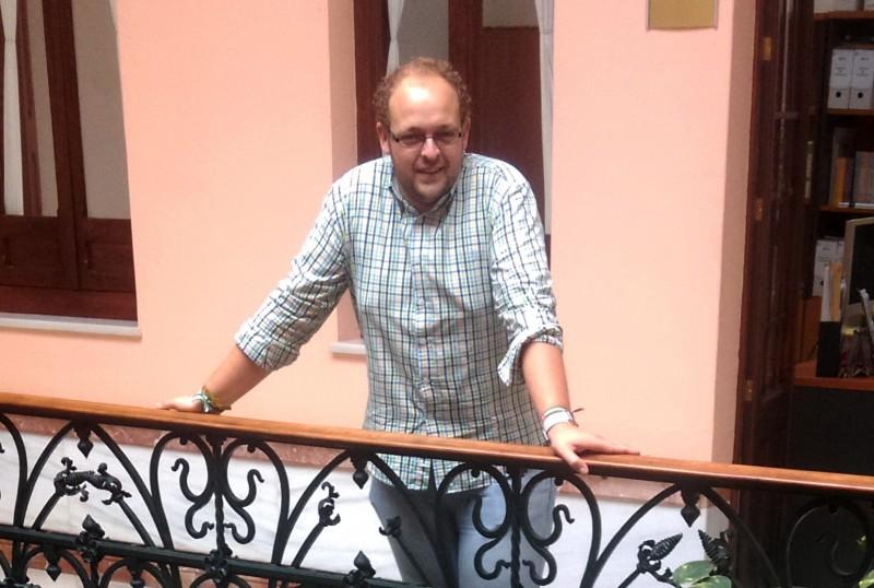 Sebastián Pérez Coronel nuevo coordinador del Instituto Andaluz de la Juventud (IAJ) en la provincia de Huelva