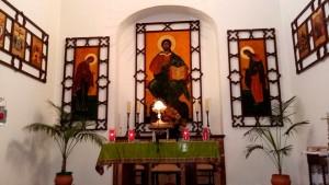 ermita de San Sebastian de Bonares Huelva.