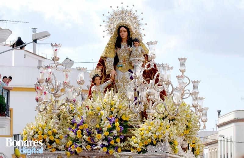 Santa María Salomé patrona de Bonare, Huelva.