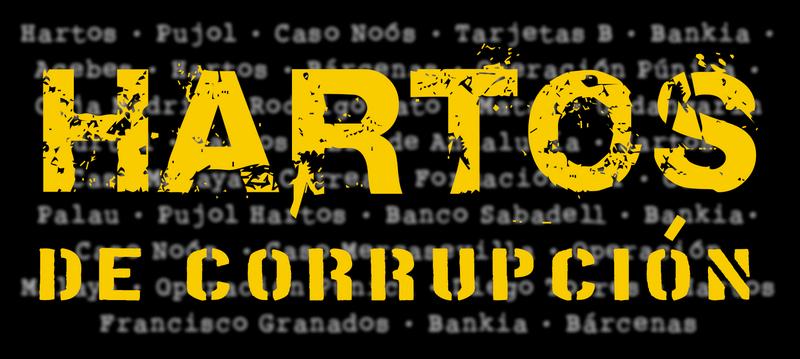 corrupción hartos