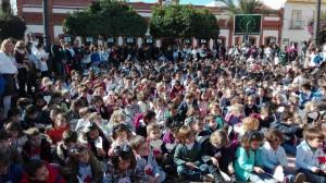 Día de la Paz y la no Violencia celebrada en Bonares