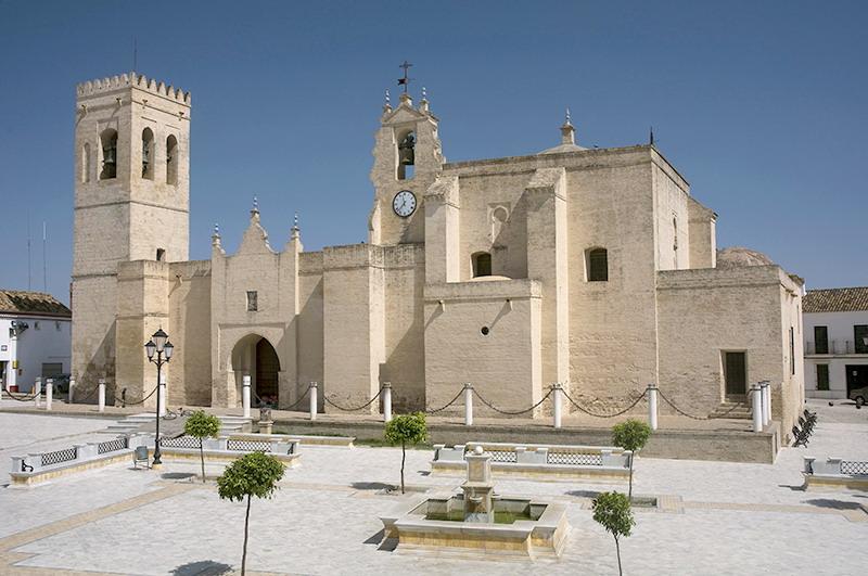 iglesia de Villalba del Alcor