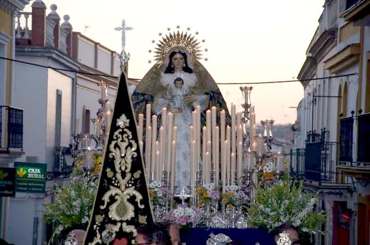 Virgen de la Candelaria Bonares