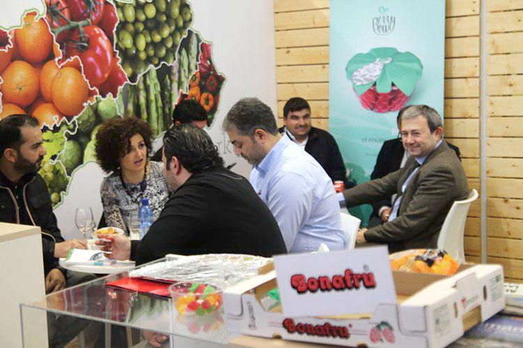 Bonafru acude a 'Fruit Logistica' en Berlín.