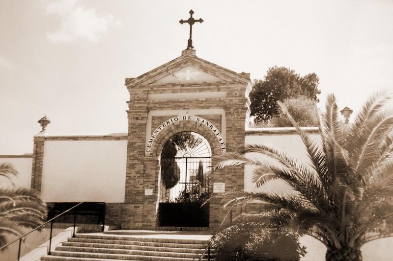 cementerio de Bonares Huelva