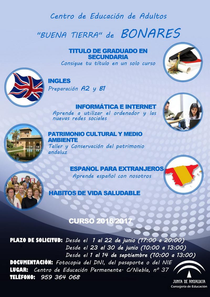 oferta educativa 2016/17 Bonares