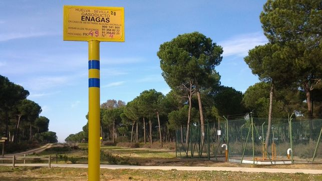Proyecto de almacenamiento de gas en Doñana
