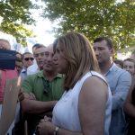 Susana Díaz emplaza a los regantes de Huelva a una reunión en el Parlamento.