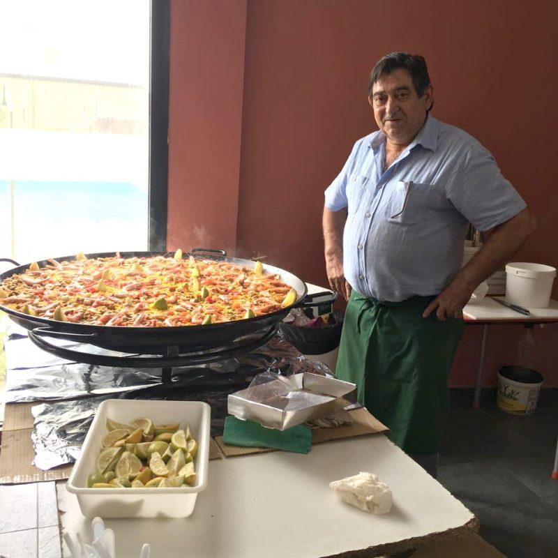 paella asnia en Bonares