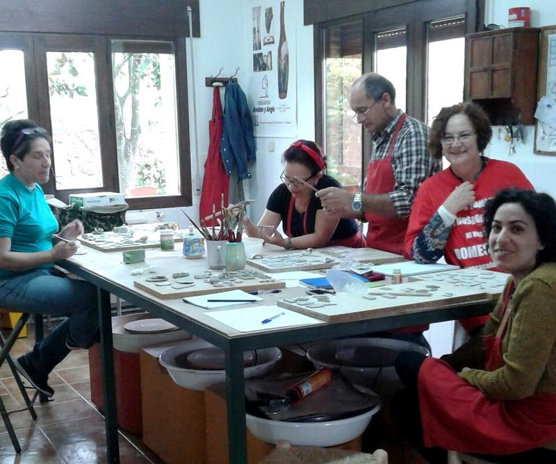 curso de cerámica en Bonares