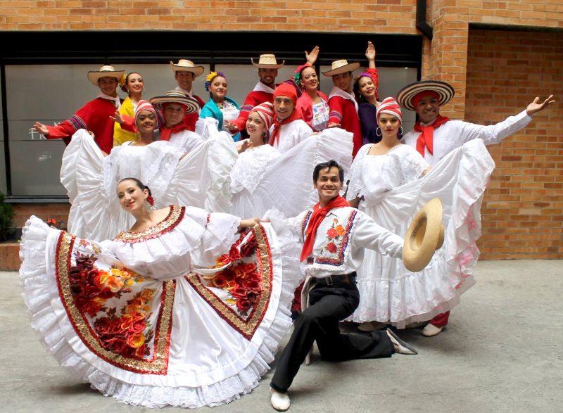 danza de Colombia en Bonares