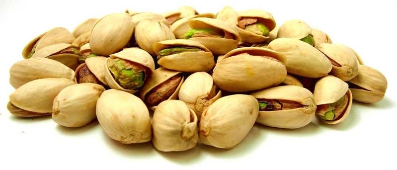 charla de pistachos