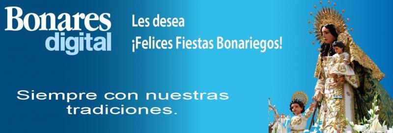 Felices Fiestas Patronales.