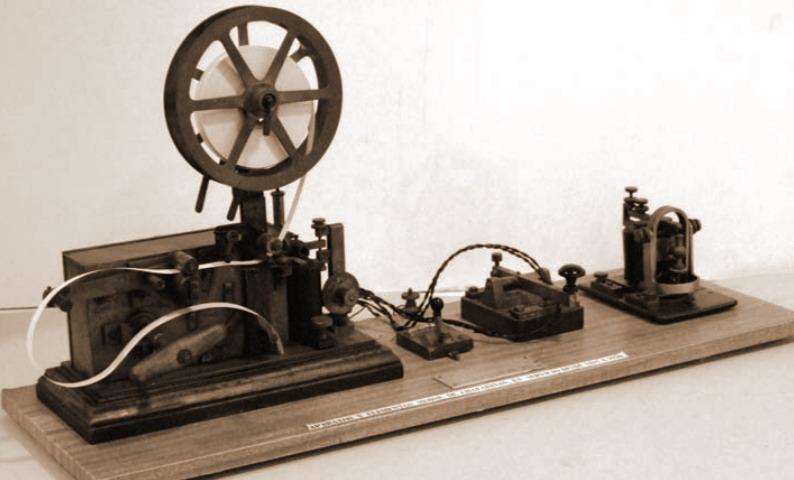estación telegráfica 1918