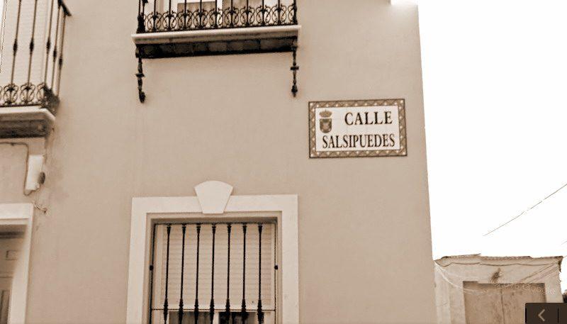 calle Salsipuedes de Bonares.